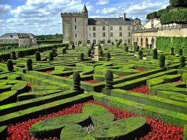сады замка Вилландри